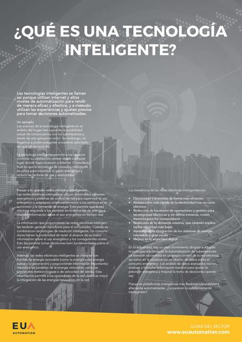 ¿Qué es una tecnología inteligente?