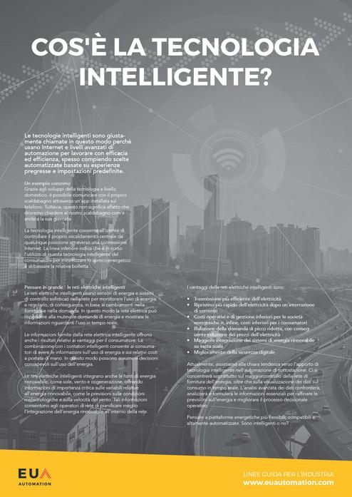 Cos'è la tecnologia intelligente?