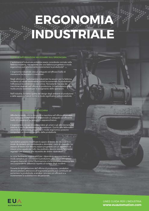 Ergonomia industriale
