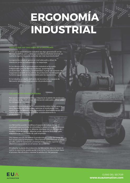 Ergonomía industrial